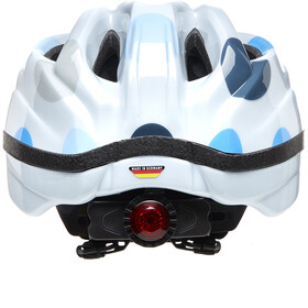 KED Meggy II Trend Helm Kinderen, dots deep blue